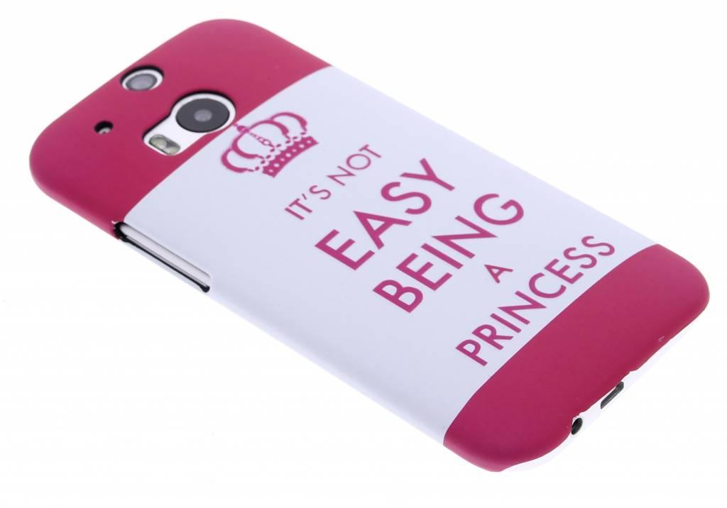 Princess design hardcase hoesje voor de HTC One M8 / M8s