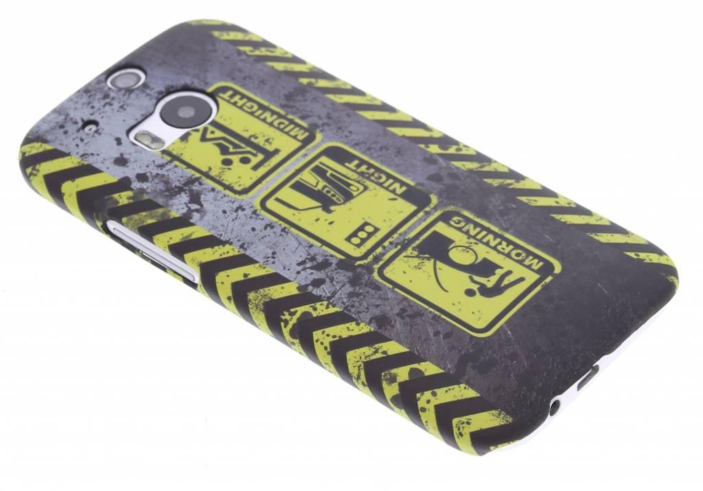 Werk in uitvoering design hardcase hoesje voor de HTC One M8 / M8s