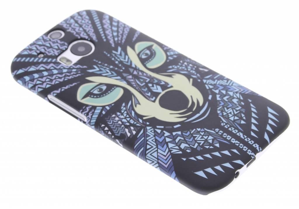 Wolf aztec animal design hardcase hoesje voor de HTC One M8 / M8s
