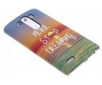 Design hardcase hoesje LG G3
