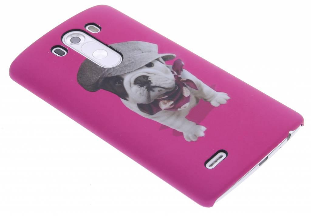 Pug design hardcase hoesje voor de LG G3