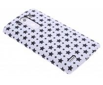 Wit sterren design hardcase hoesje LG G3