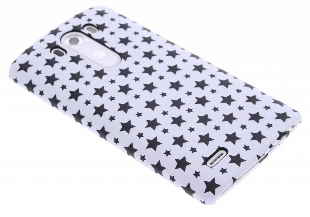 Wit sterren design hardcase hoesje voor de LG G3
