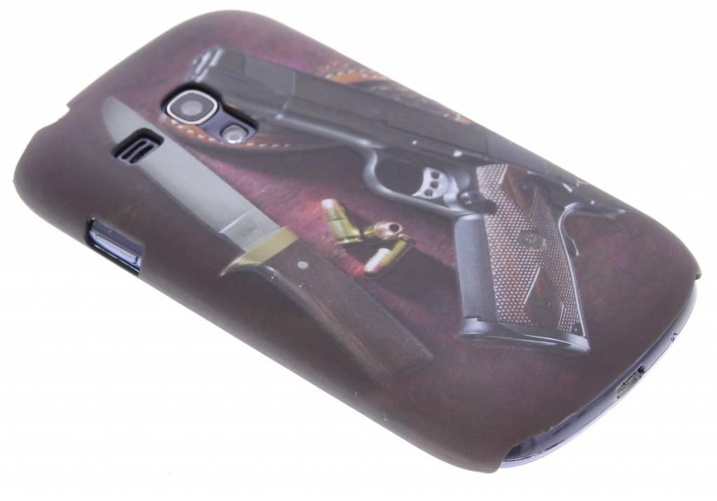 Wapens design hardcase hoesje voor de Samsung Galaxy S3 Mini