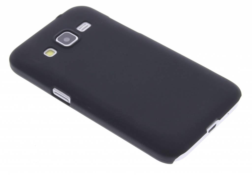 Zwart effen hardcase hoesje voor de Samsung Galaxy Core Prime