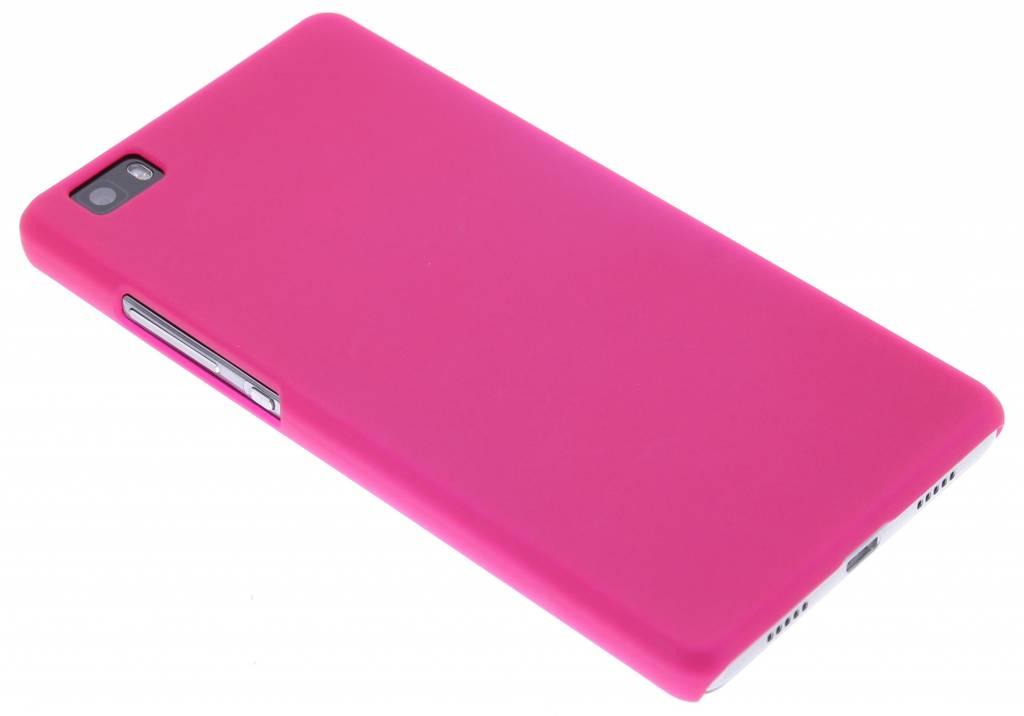 Fuchsia effen hardcase hoesje voor de Huawei P8 Lite