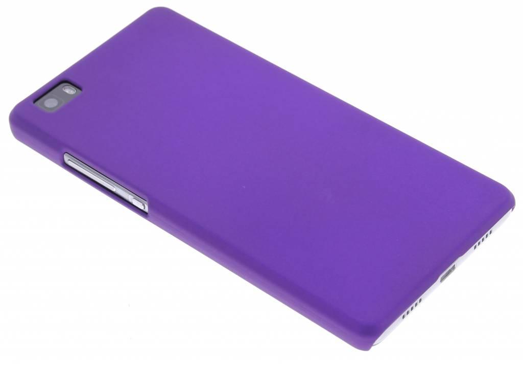 Paars effen hardcase hoesje voor de Huawei P8 Lite