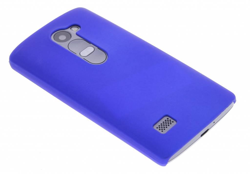 Blauw effen hardcase hoesje voor de LG Leon