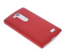 Rood effen hardcase hoesje LG L Fino / L70 Plus