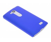 Blauw effen hardcase hoesje LG L Fino / L70 Plus
