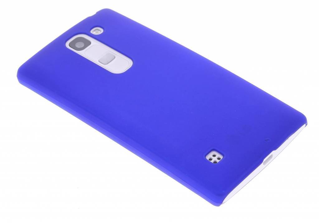 Blauw effen hardcase hoesje voor de LG Spirit
