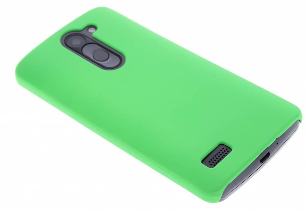 Groen effen hardcase voor de hoesje LG L Bello / L80 Plus