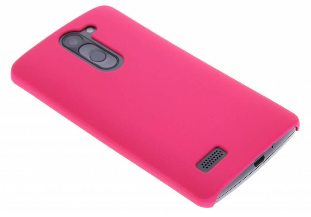 Fuchsia effen hardcase voor de hoesje LG L Bello / L80 Plus