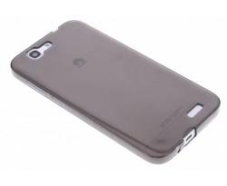 Grijs transparant gel case Huawei Ascend G7