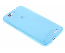 Turquoise transparant gel case Huawei Ascend G7