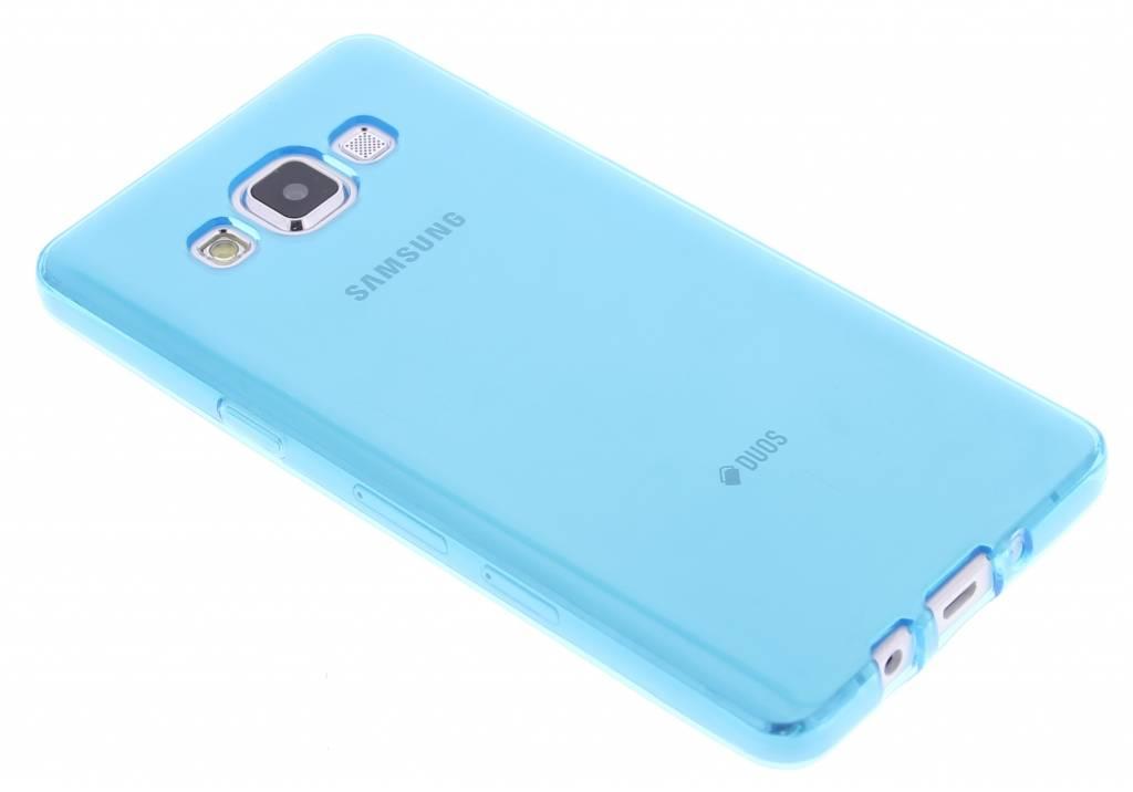 Turquoise transparante gel case voor de Samsung Galaxy A5