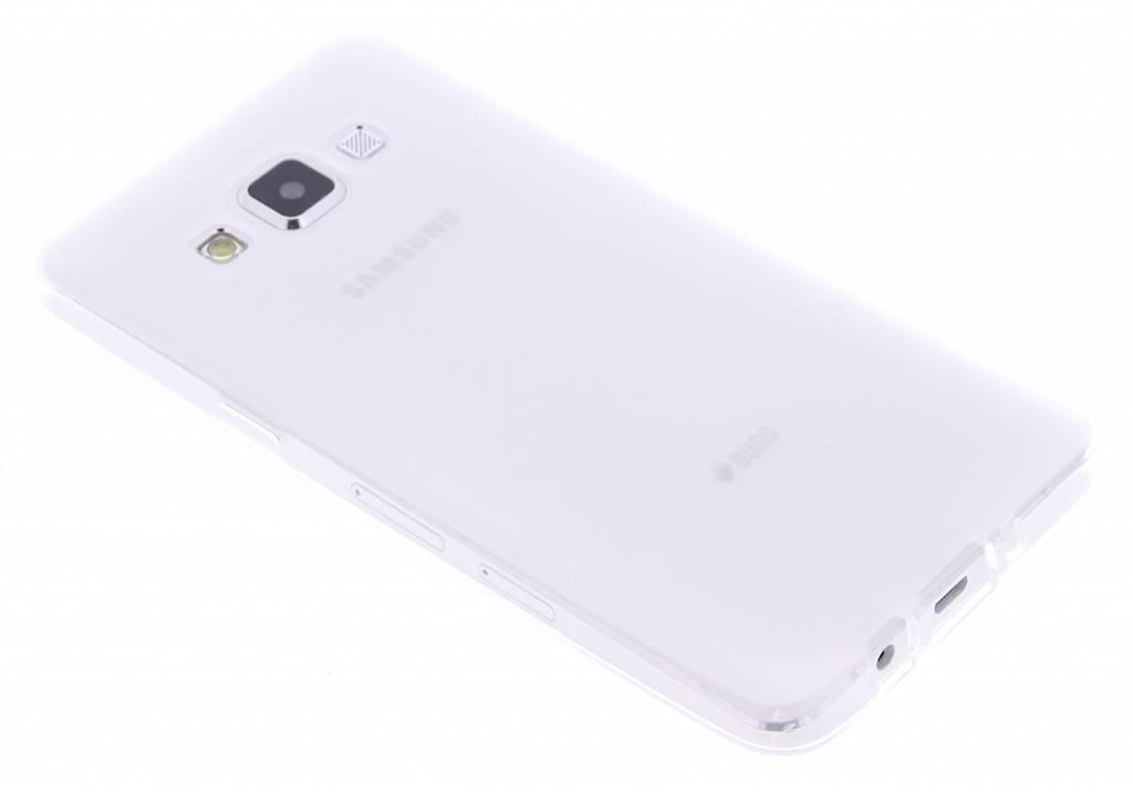 Wit hard siliconen hoesje voor de Samsung Galaxy A5
