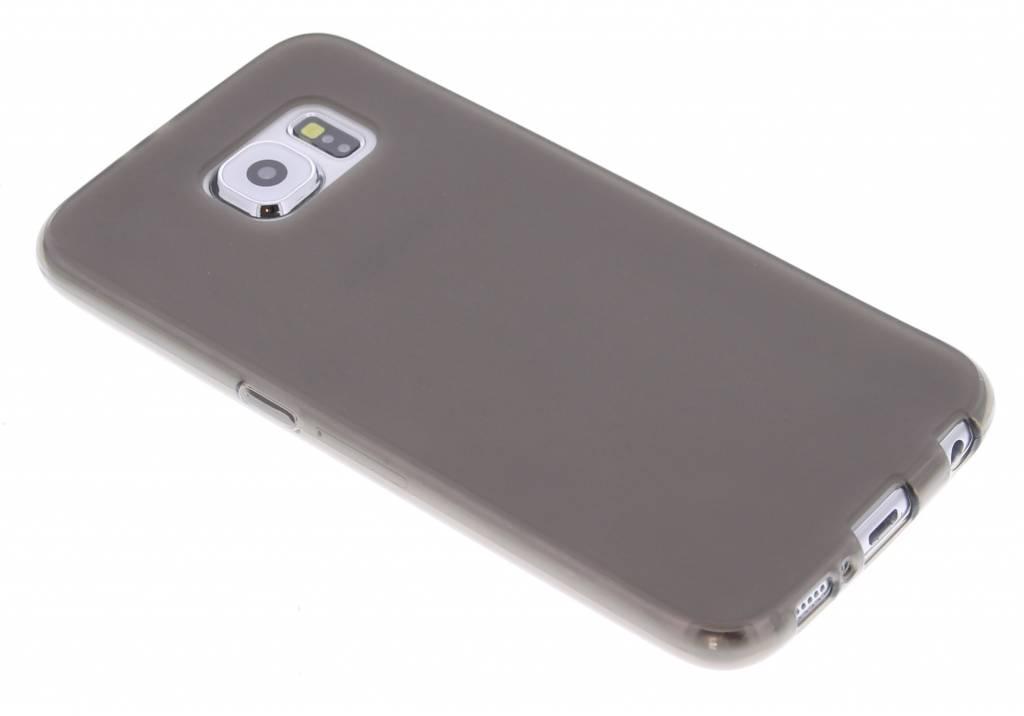 Grijs hard siliconen hoesje voor de Samsung Galaxy S6