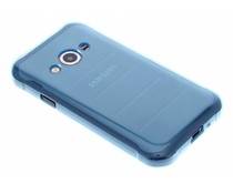 Turquoise transparant gel case Samsung Galaxy Xcover 3