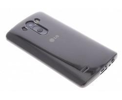 Grijs transparant gel case LG G3