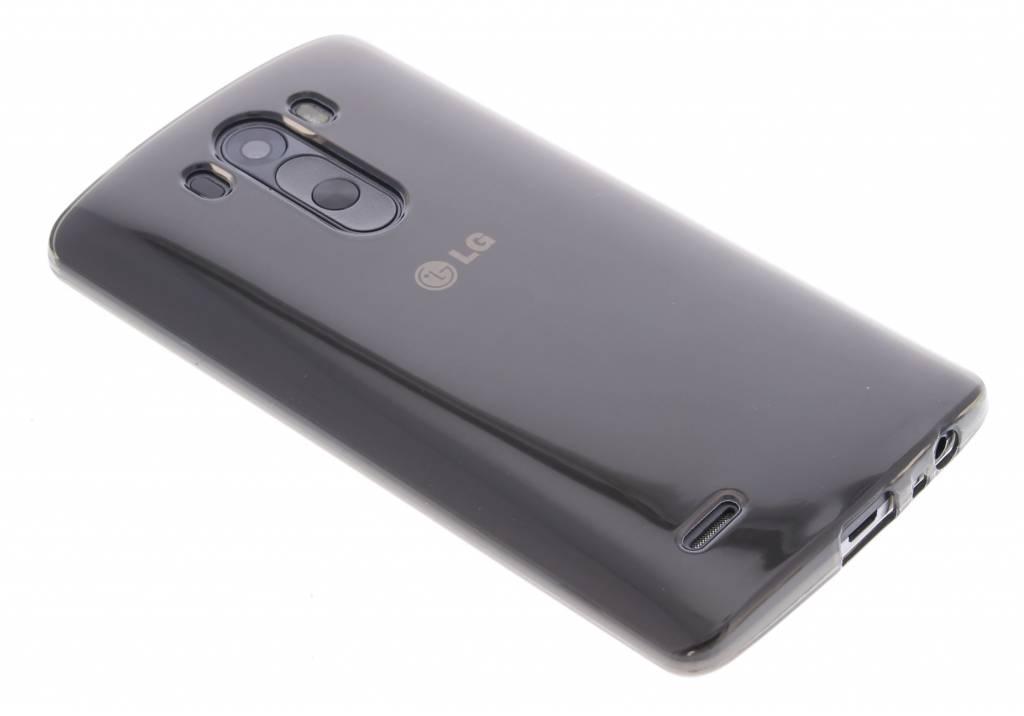 Grijze transparante gel case voor de LG G3