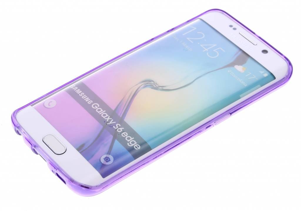 Transparent Strass Étui Rigide Pour Samsung Galaxy S6 KEGpG9