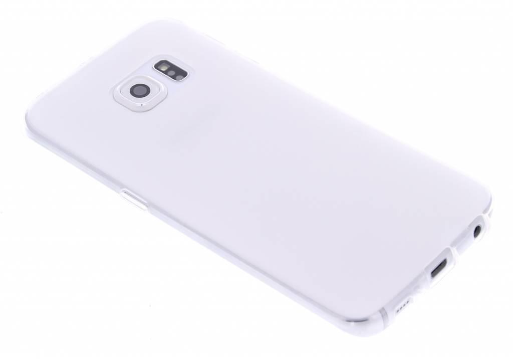 Transparant hard siliconen hoesje voor de Samsung Galaxy S6 Edge