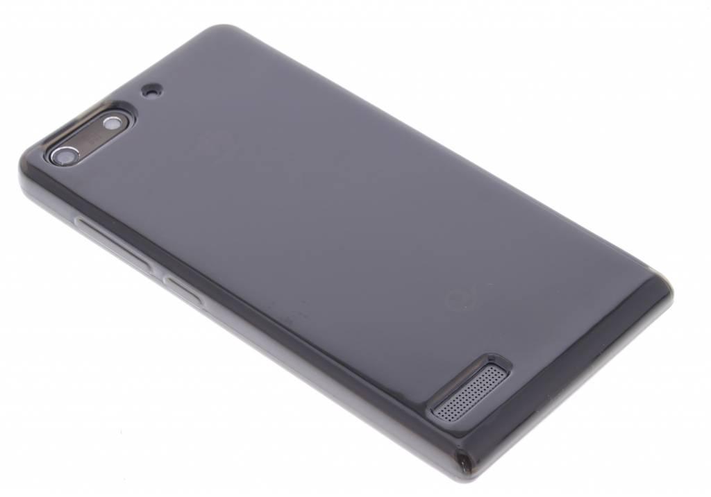 Grijze transparante gel case  voor de Huawei Ascend G6