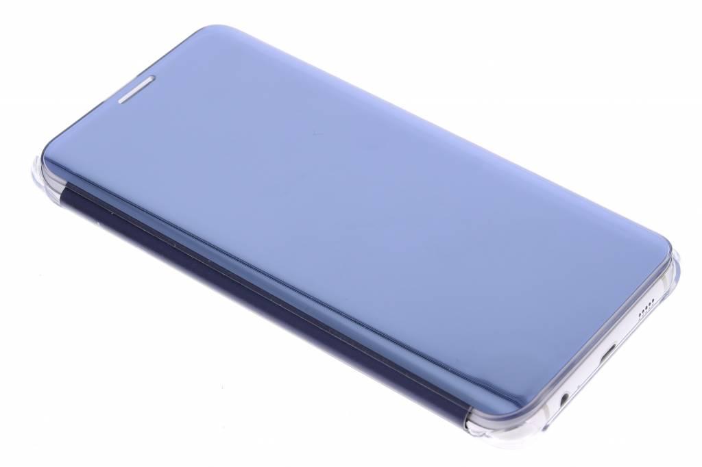 Samsung originele Clear View Cover voor de Samsung Galaxy S6 Edge Plus - Blauw