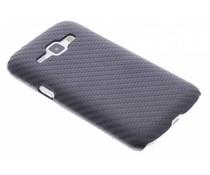 Carbon look hardcase hoesje Samsung Galaxy J1