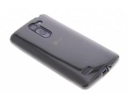 Grijs transparant gel case LG L Bello / L80 Plus