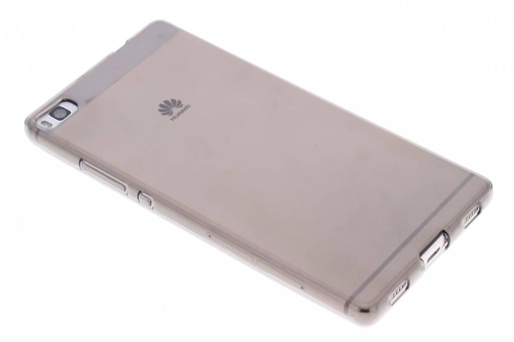 Grijze transparante gel case voor de Huawei P8