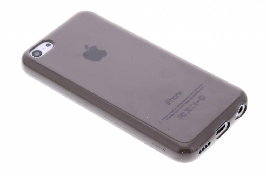 Grijze transparante gel case voor de iPhone 5c