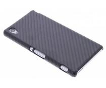 Carbon look hardcase hoesje Sony Xperia M4 Aqua