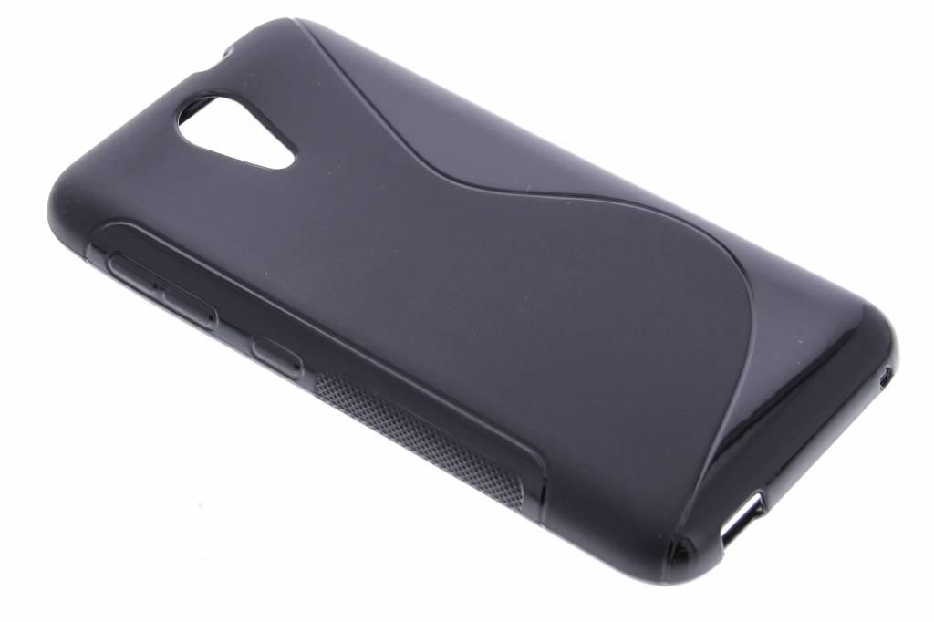 Zwart S-line TPU hoesje voor de HTC Desire 620