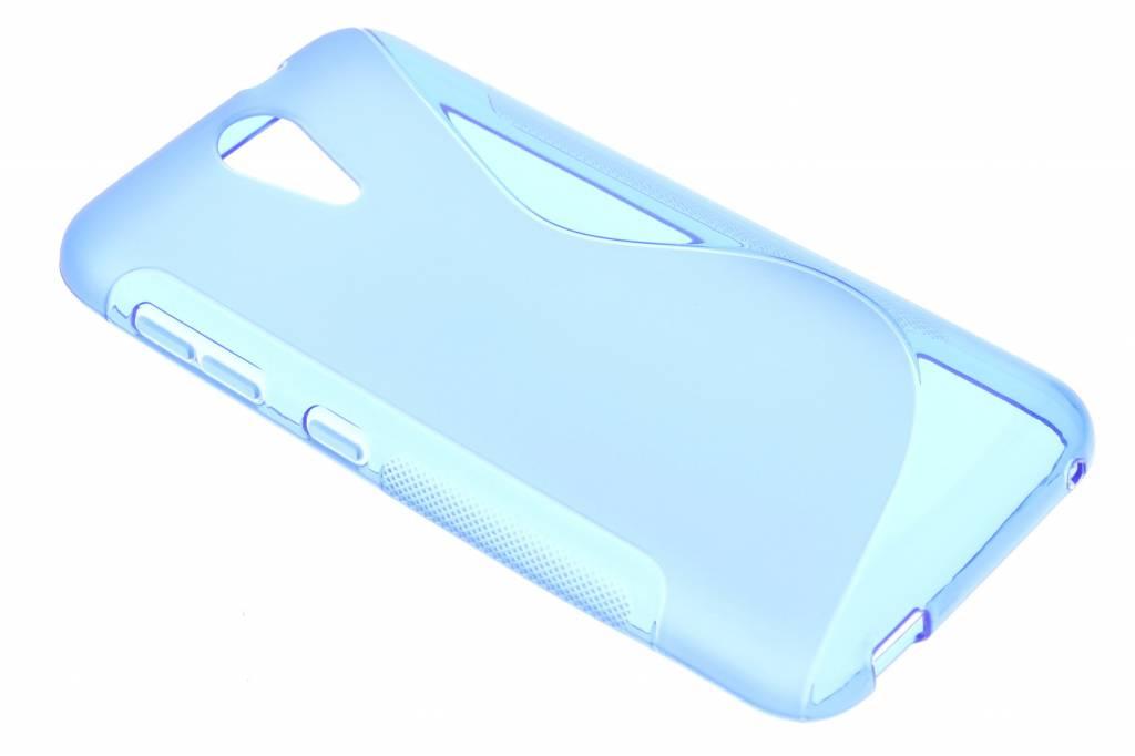 Blauw S-line TPU hoesje voor de HTC Desire 620