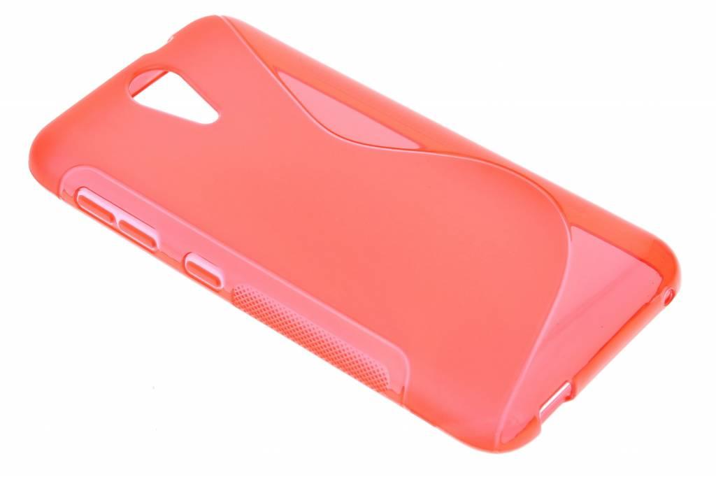 Rood S-line TPU hoesje voor de HTC Desire 620