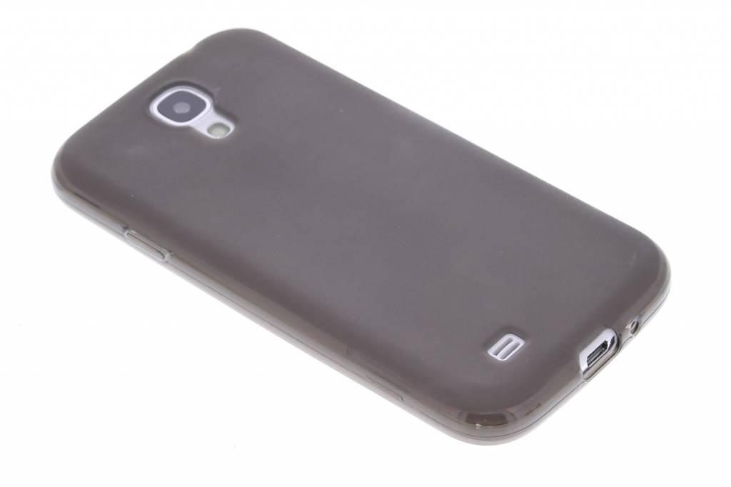 Grijs hard siliconen hoesje Samsung Galaxy S4