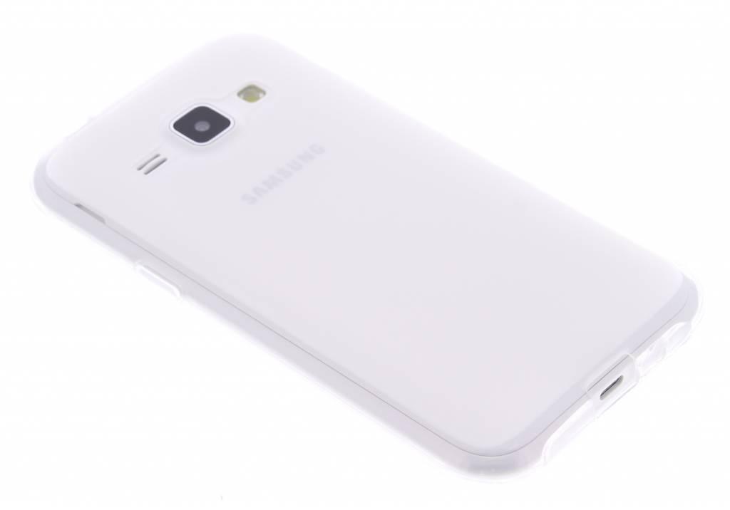 Transparant hard siliconen hoesje voor de Samsung Galaxy J1