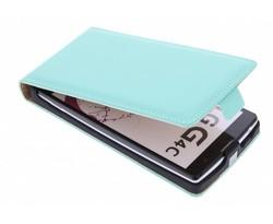 Selencia Luxe Flipcase LG Magna / G4c - Mintgroen