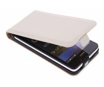 Selencia Luxe Flipcase Huawei Y635 - Gebroken wit