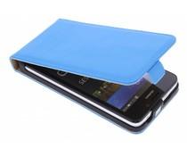 Selencia Luxe Flipcase Huawei Y635 - Blauw