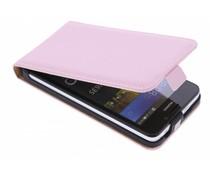 Selencia Luxe Flipcase Huawei Y635 - Poederroze