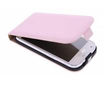 Selencia Luxe Flipcase Nokia Lumia 630 - Poederroze