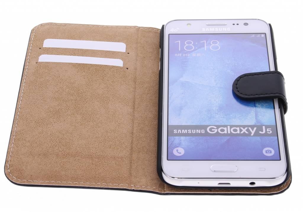 Cas Du Livre De Luxe Pour Samsung Galaxy J7 (2016) - Noir MtZL9ZMun