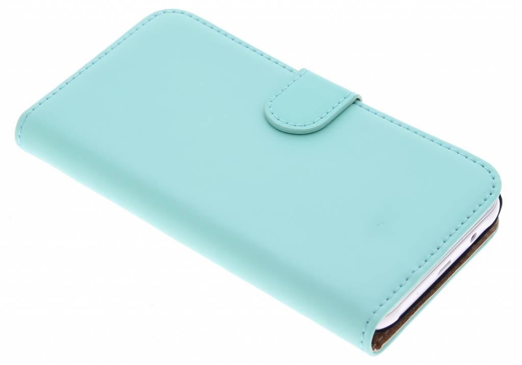 Luxe Book Case voor de Samsung Galaxy J5 - Mintgroen