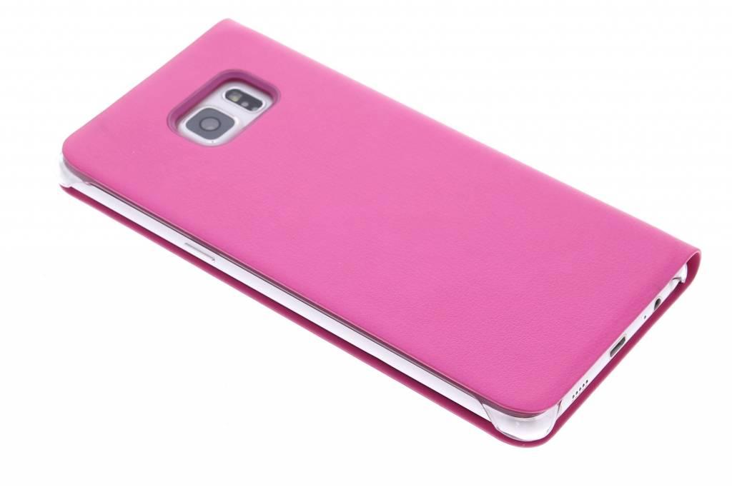 Boîtier De Type Livre Intelligent Rose Pour Samsung Galaxy S Edgeplus XKb2e5jjf