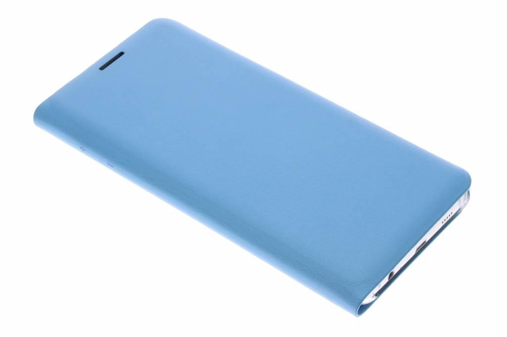 Staal blauwe slim booktype hoes voor de Samsung Galaxy S6 Edge Plus