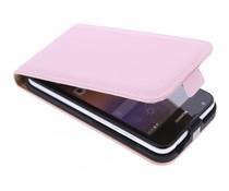 Selencia Luxe Flipcase Huawei Ascend Y550 - Poederroze
