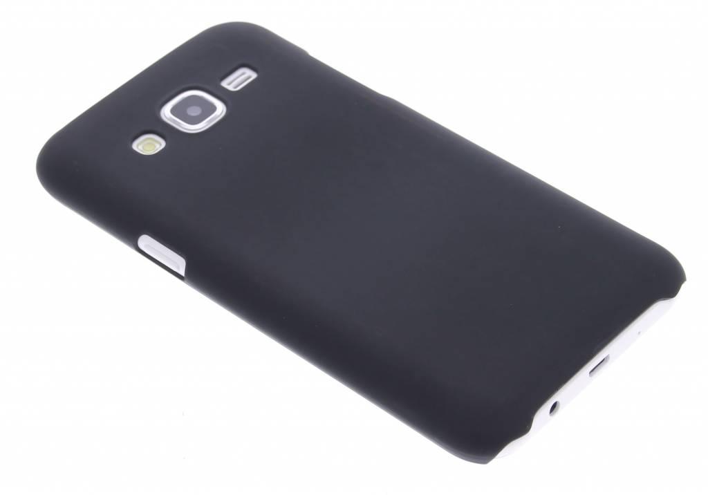 Zwart effen hardcase hoesje voor de Samsung Galaxy J5